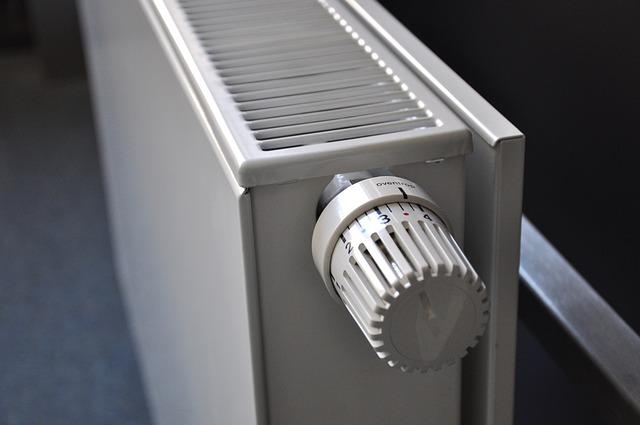Kaloryfer z termostatem