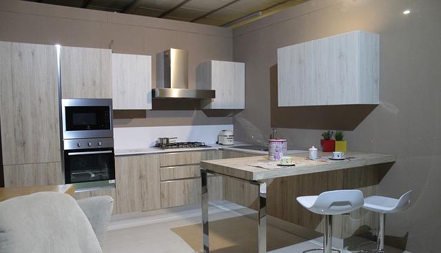 Otwarta kuchnia w mieszkaniu