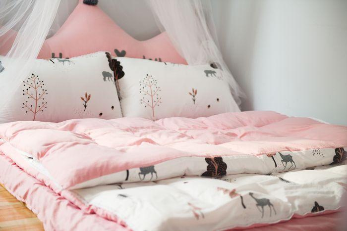 Różowy pokój dziewczynki
