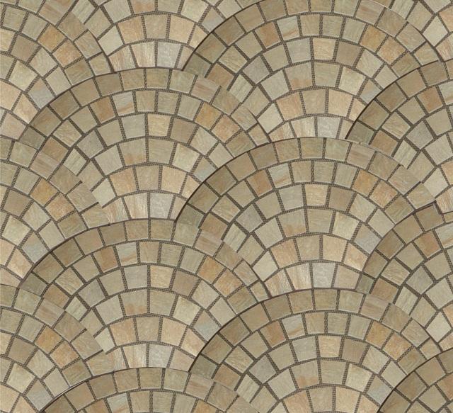 Mozaika z kamienia dekoracyjnego