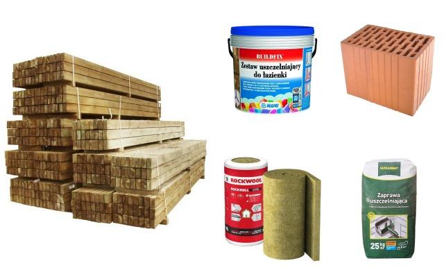 Materiały budowlane różne