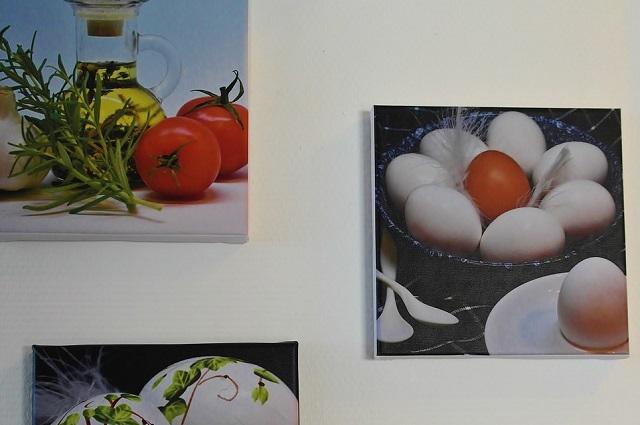 Obrazy jedzenia w kuchni