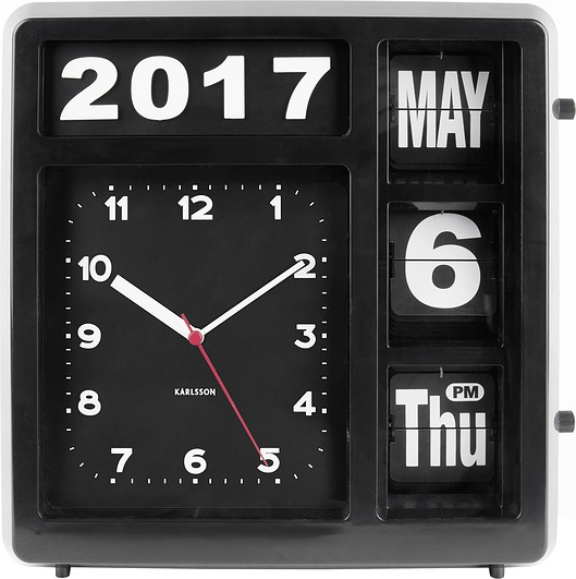 zegar z datownikiem