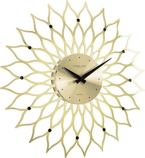 złoty zegar