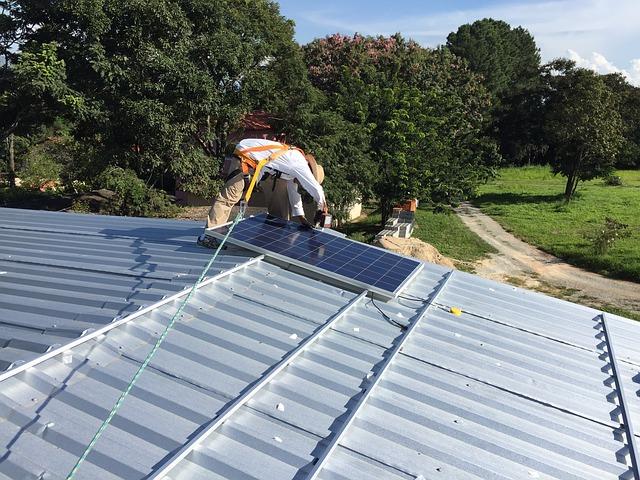 Instalacja fotowoltaiki na dachu