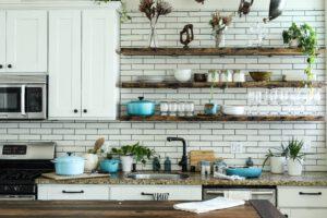 Uporządkowana i zadbana kuchnia
